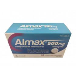 ALMAX 500 MG 48 COM