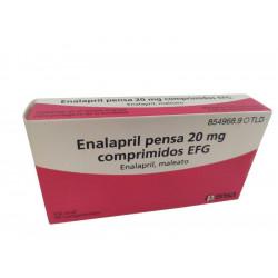 ENALAPRIL PENSA EFG 20 MG...