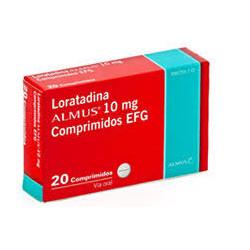 LORATADINA ALMUS EFG 10 MG...